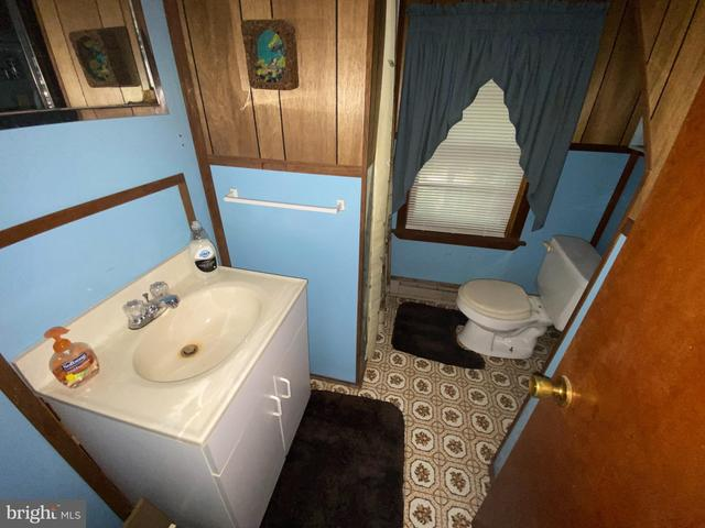 Bathroom featured at 20728 S Fork Rd, Moorefield, WV 26838