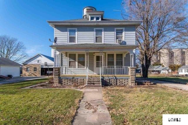 Porch featured at 213 N Bogardus St, Elkhart, IL 62634