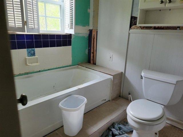 Bathroom featured at 14557 Inverness Trail Rd, Cheboygan, MI 49721
