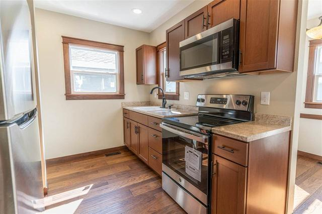 Kitchen featured at 312 Clay St, Waterloo, IA 50703