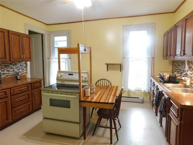 Kitchen featured at 16 S Main St, Cohocton, NY 14826