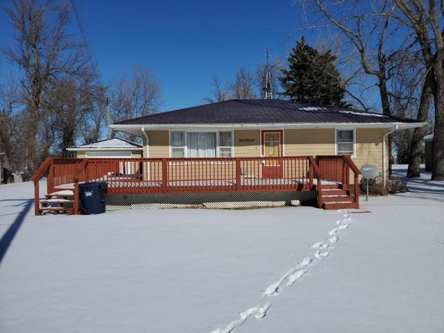 Porch featured at 120 Frank St W, Goodrich, ND 58444