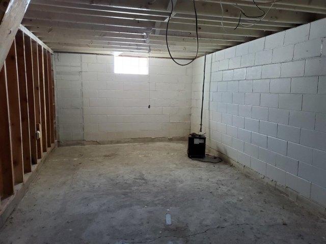 Bathroom featured at 120 Frank St W, Goodrich, ND 58444