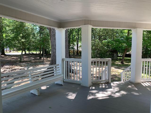 Porch featured at 637 Carthage St, Cameron, NC 28326