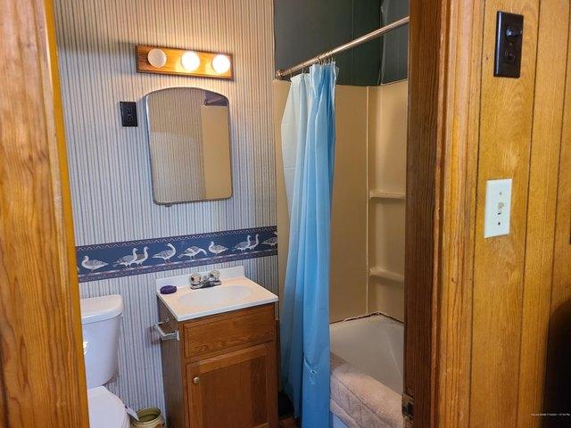 Bathroom featured at 98 High St, Vanceboro, ME 04491
