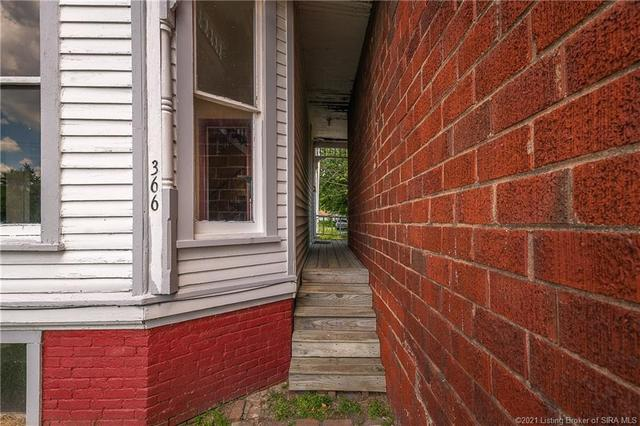 Porch featured at 366 Main Cross St, Charlestown, IN 47111