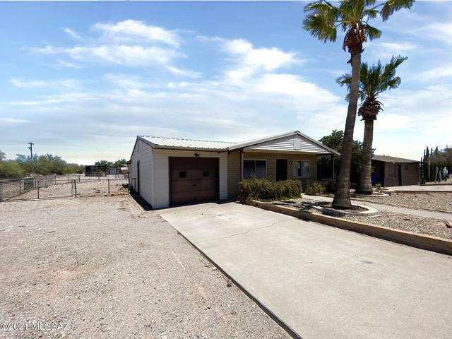 Road view featured at 440 W 5th St, Ajo, AZ 85321
