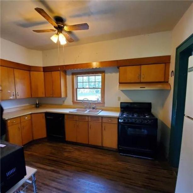 Kitchen featured at 11993 Butler St, Wolcott, NY 14590