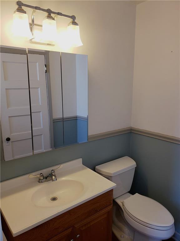Bathroom featured at 124 N Walnut St, New Castle, PA 16101