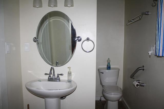 Bathroom featured at 711 Temple St, Hinton, WV 25951