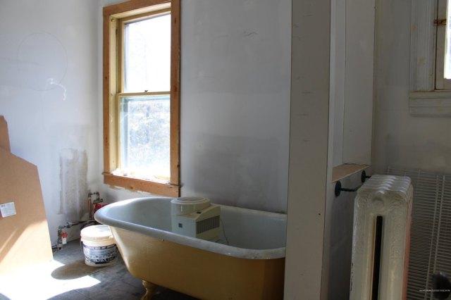 Bathroom featured at 23 Wilder St, Washburn, ME 04786