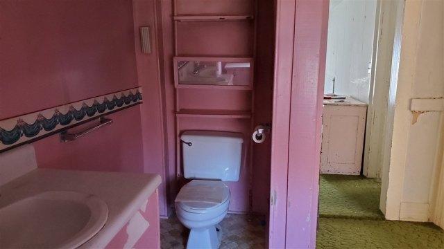 Bathroom featured at 28 Park Blvd, Staunton, VA 24401