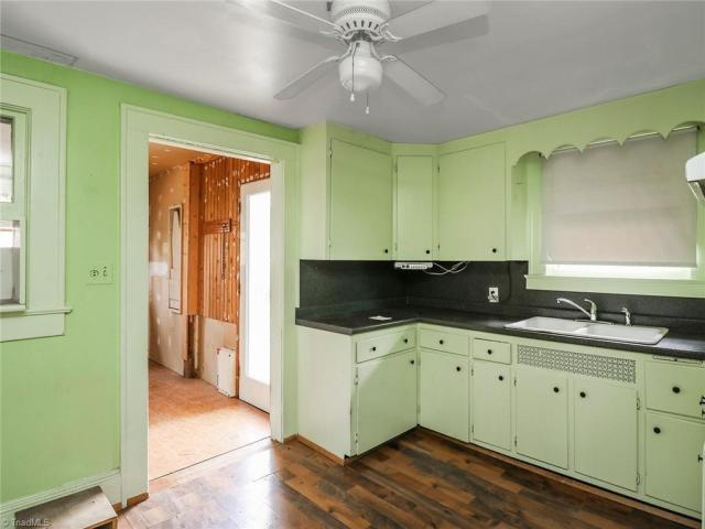 Kitchen featured at 2624 W Court St, Greensboro, NC 27407
