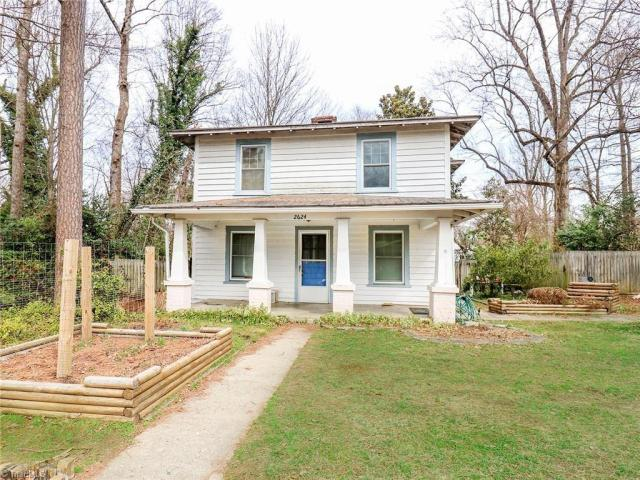 Porch yard featured at 2624 W Court St, Greensboro, NC 27407
