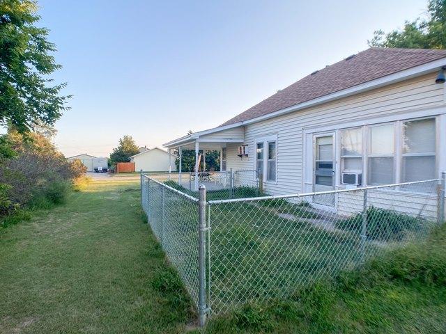 Yard featured at 509 W Church St, Logan, KS 67646
