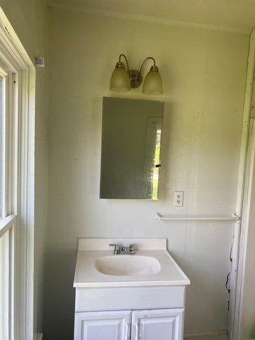 Bathroom featured at 112 Buffalo Creek Rd, Red Oak, VA 23964