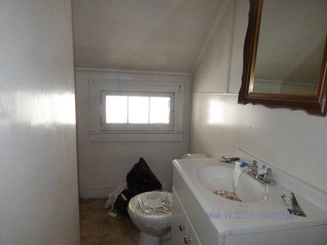 Bathroom featured at 222 School St, Bennington, VT 05201