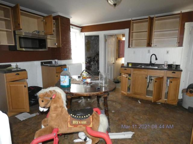 Kitchen featured at 222 School St, Bennington, VT 05201