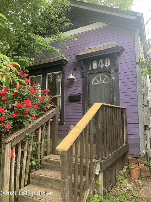 Porch featured at 1849 Bank St, Louisville, KY 40203
