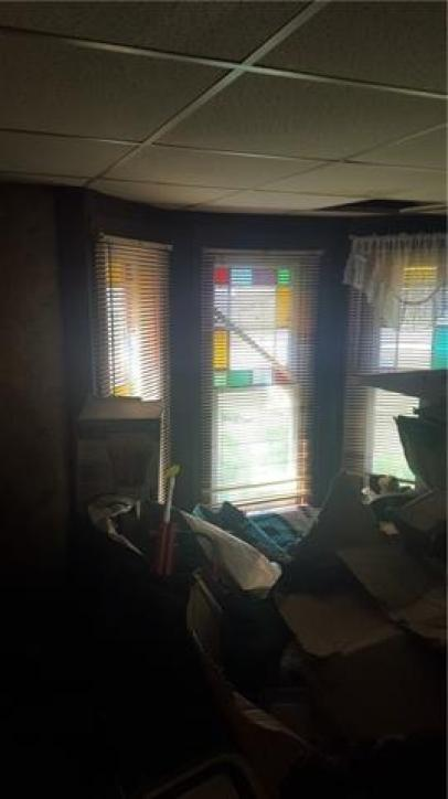 Bedroom featured at 300 N 1st St, Kincaid, KS 66039