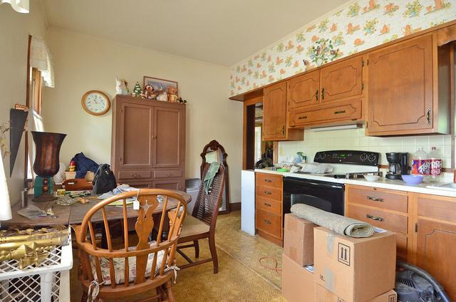 Kitchen featured at 502 S Monroe St, Streator, IL 61364