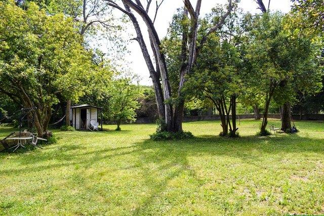 Yard featured at 223 Edisto St, Johnston, SC 29832