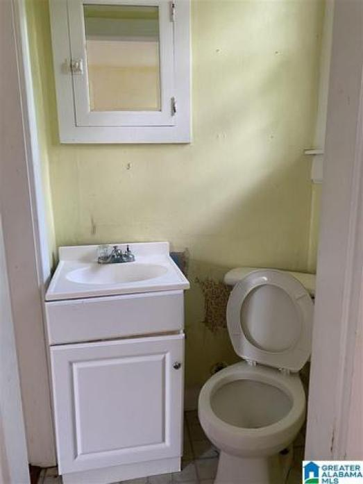 Bathroom featured at 421 Young St, Selma, AL 36701