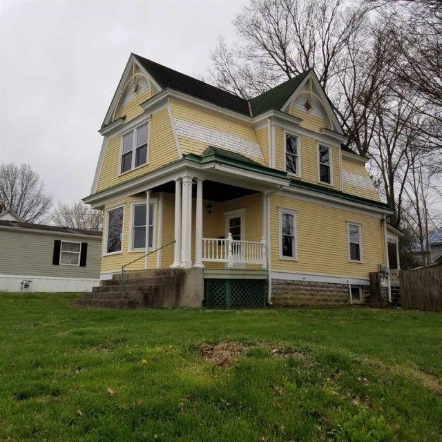 Porch yard featured at 401 Main St, Falmouth, KY 41040