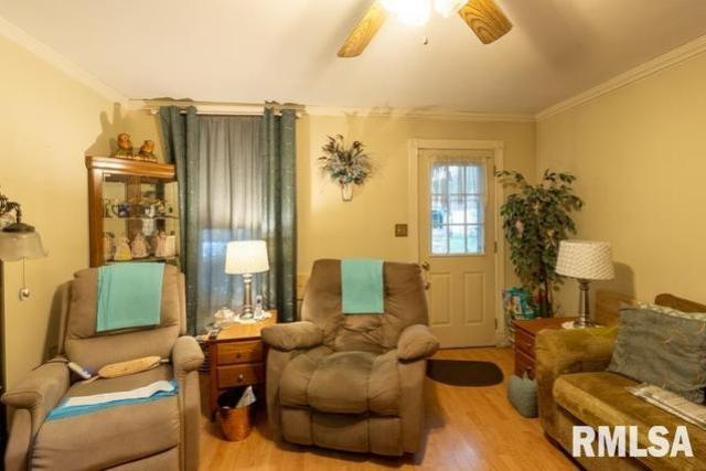 Living room featured at 621 Vine St, Peoria, IL 61603