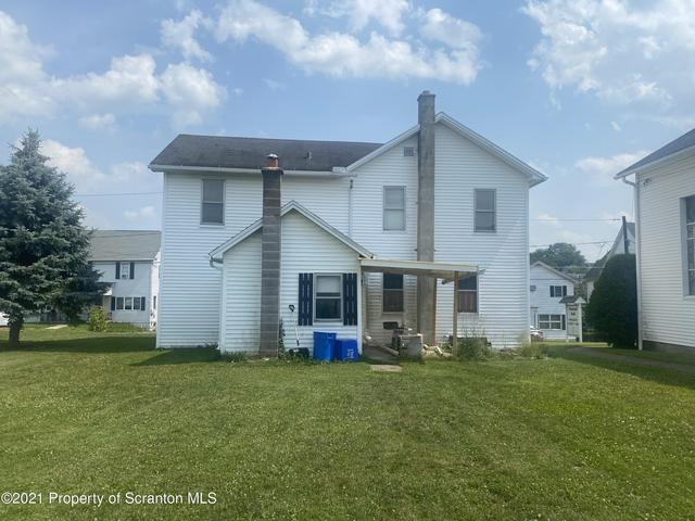 House view featured at 412 Delaware Ave, Olyphant, PA 18447