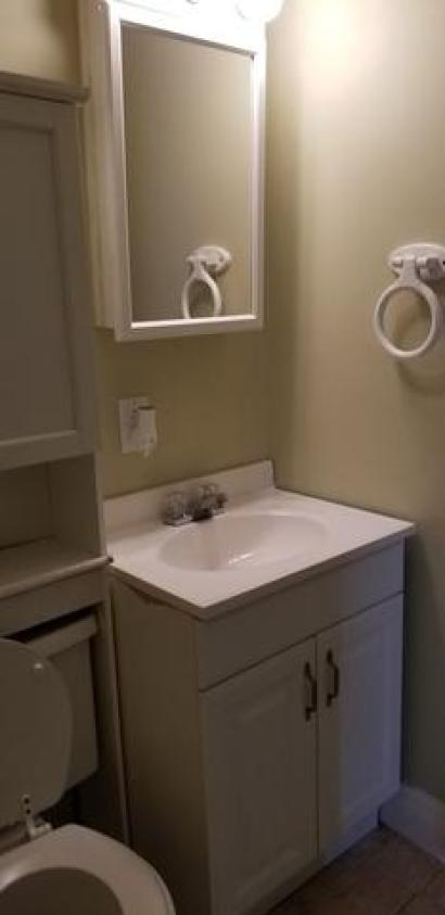 Bathroom featured at 3172 Coal River Rd, Glen Daniel, WV 25844