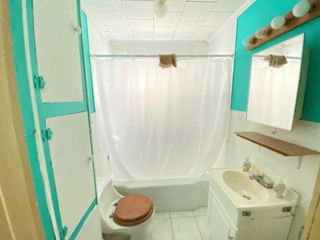 Bathroom featured at 107 Crocker St, Seaboard, NC 27876