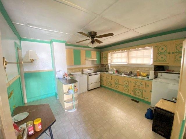 Kitchen featured at 107 Crocker St, Seaboard, NC 27876