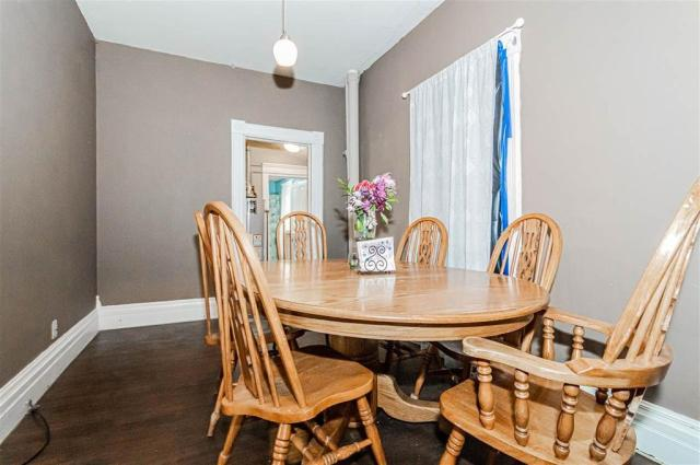 Dining room featured at 703 W 8th St, Junction City, KS 66441