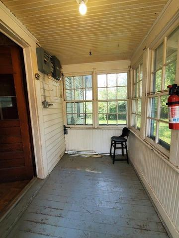 Porch featured at 240 W 15th St, Horton, KS 66439