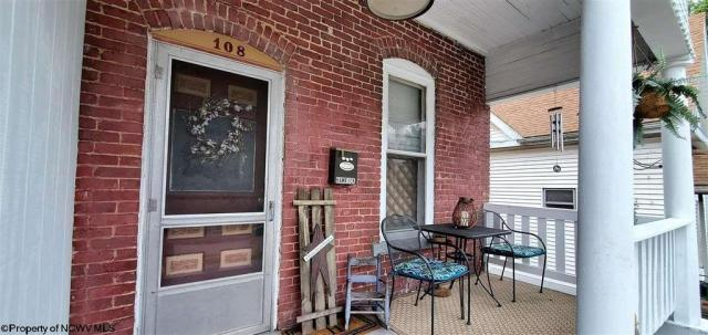 Porch featured at 108 Hess Ave, Fairmont, WV 26554