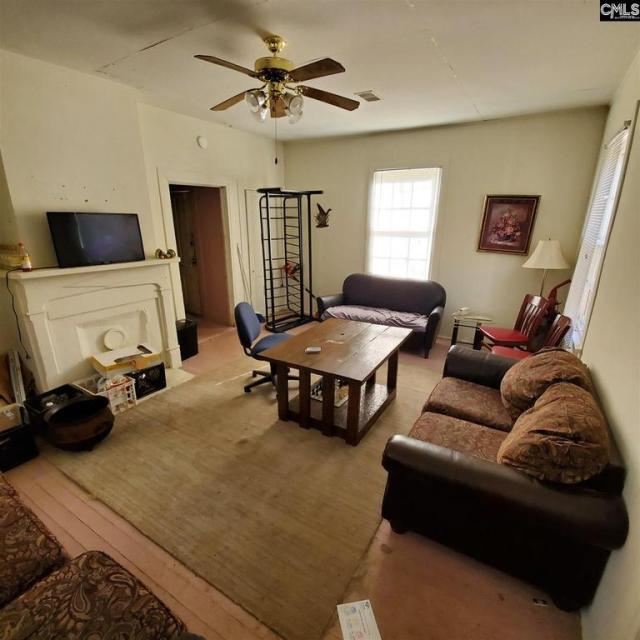 Living room featured at 2440 Greene St, Columbia, SC 29205