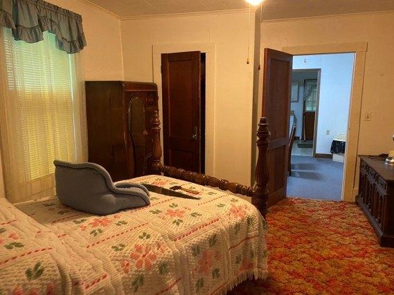 Bedroom featured at 5740 Garden Creek Rd, Rowe, VA 24646