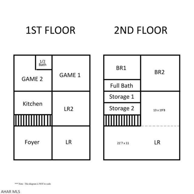 Floor plan featured at 182 Gilbert St, Johnstown, PA 15906