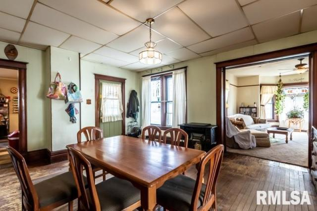 Dining room featured at 101 N Adams St, Washburn, IL 61570