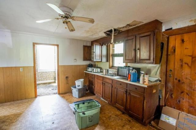 Kitchen featured at 4315 Airline Rd, Wesley, ME 04686