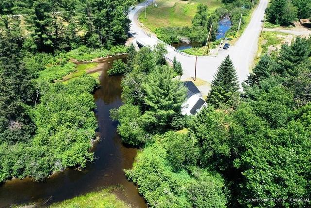 Water front featured at 19 Herring Tract Rd, Willimantic, ME 04443