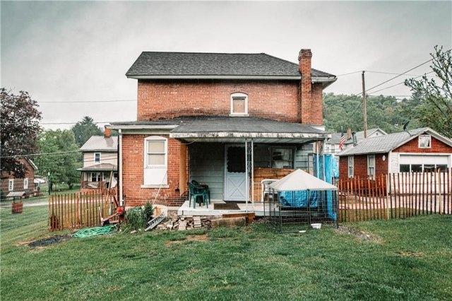 Porch yard featured at 3967 Stiffler Hill Rd, Cherry Tree, PA 15724