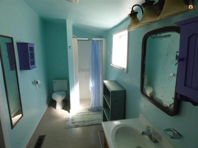 Bathroom featured at 517 S 2nd St, Raton, NM 87740