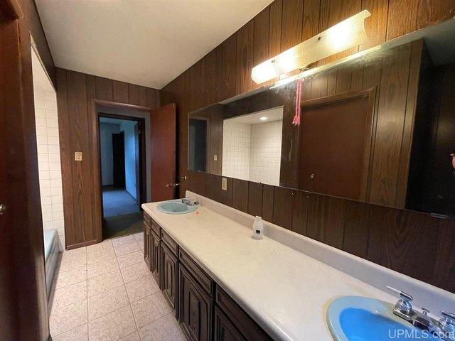Bathroom featured at N9590 Petes Dr, Felch, MI 49831