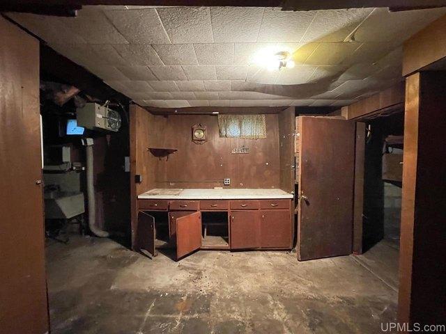 Kitchen featured at N9590 Petes Dr, Felch, MI 49831
