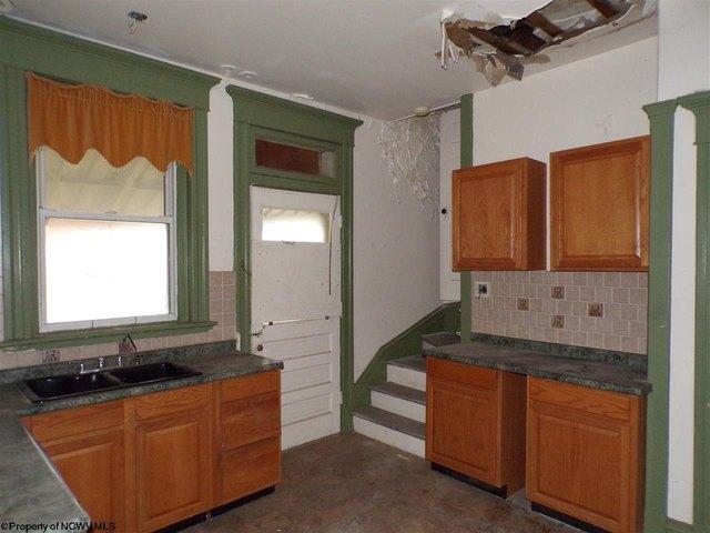 Kitchen featured at 305 Clark St, Clarksburg, WV 26301
