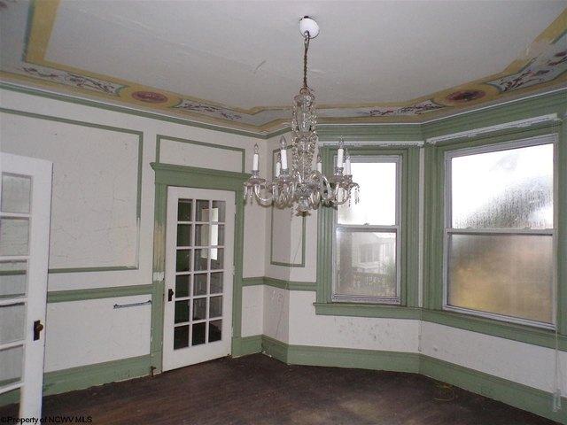 Dining room featured at 305 Clark St, Clarksburg, WV 26301