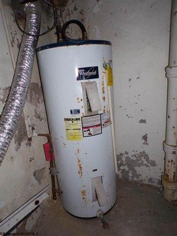 Bathroom featured at 305 Clark St, Clarksburg, WV 26301