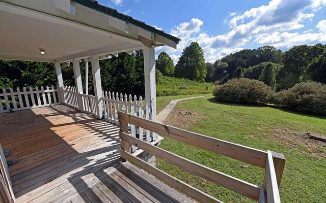 Porch featured at 858 Bluff Rd, Marble, NC 28905